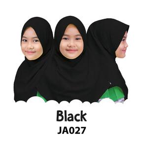 Afrakids AFRA - JA027 Jilbab Afrakids Black