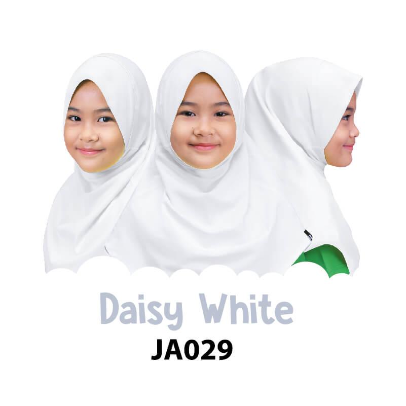 Afrakids AFRA - JA029 Jilbab Afrakids Daisy White