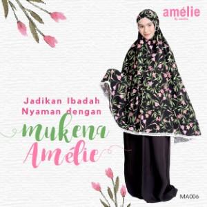 Mukena Amelie AMLI - MA006 Hitam