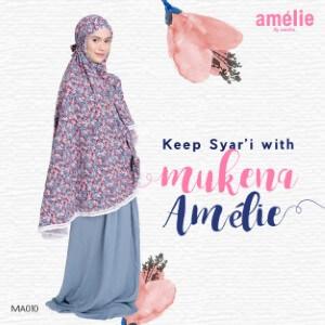 Mukena Amelie AMLI - MA010 Abu-abu
