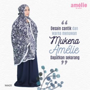 Mukena Amelie AMLI - MA011 Navy