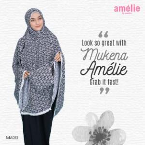 Mukena Amelie AMLI - MA013 Hitam