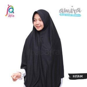 Jilbab Afra JAFR - Amira 04 Hitam