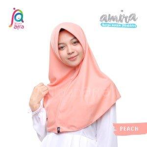 Jilbab Afra JAFR - Amira 05 Peach