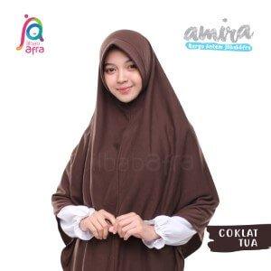 Jilbab Afra JAFR - Amira 08 Coklat Tua