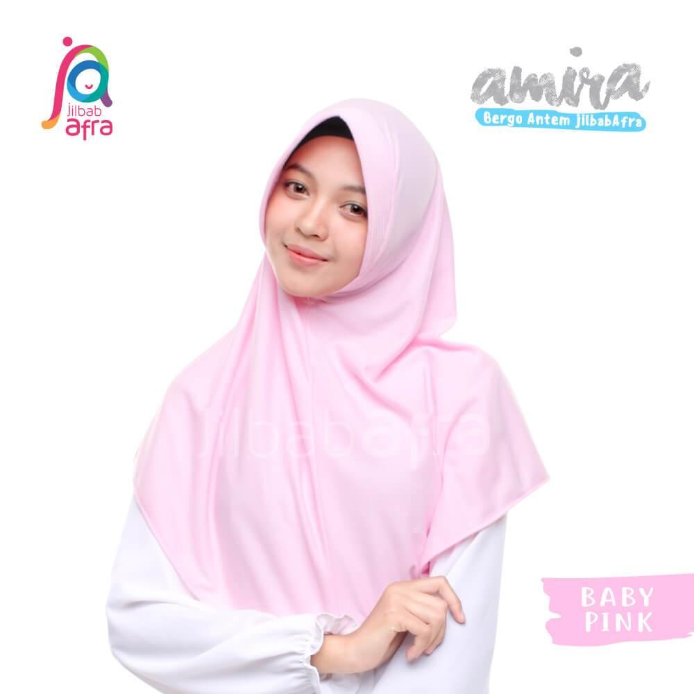 Jilbab Afra JAFR - Amira 09 Baby Pink