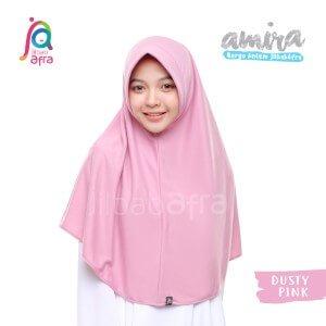 Jilbab Afra JAFR - Amira 10 Dusty Pink