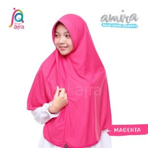 Jilbab Afra JAFR - Amira 11 Magenta