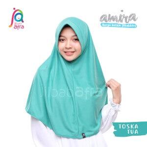 Jilbab Afra JAFR - Amira 14 Toska Tua