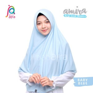 Jilbab Afra JAFR - Amira 15 Baby Blue