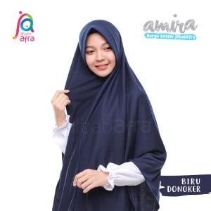 Jilbab Afra JAFR - Amira 16 Biru Dongker