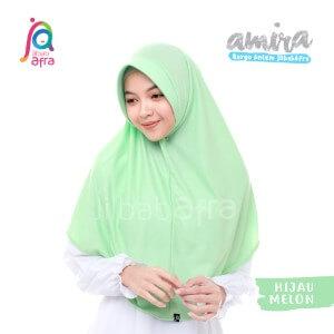 Jilbab Afra JAFR - Amira 17 Hijau Melon