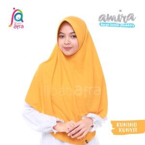 Jilbab Afra JAFR - Amira 18 Kuning Kunyit