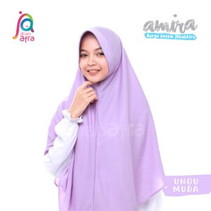 Jilbab Afra JAFR - Amira 19 Ungu Muda