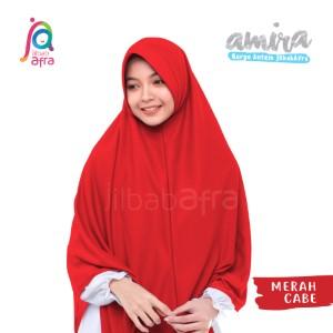 Jilbab Afra JAFR - Amira 20 Merah Cabe