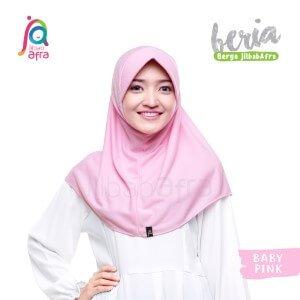 Jilbab Afra JAFR - Beria 13 Baby Pink