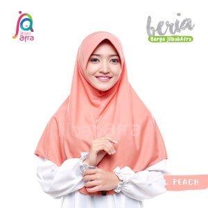 Jilbab Afra JAFR - Beria 14 Peach