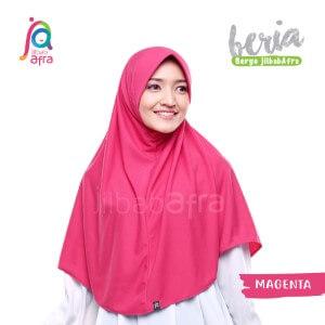 Jilbab Afra JAFR - Beria 15 Magenta