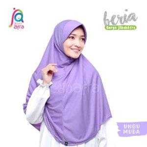 Jilbab Afra JAFR - Beria 16 Ungu Muda