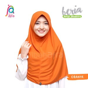 Jilbab Afra JAFR - Beria 21 Oranye