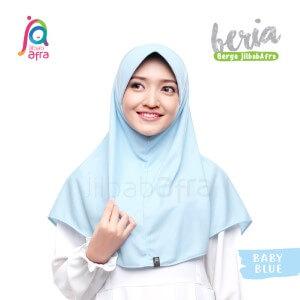 Jilbab Afra JAFR - Beria 25 Baby Blue