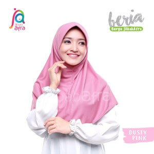 Jilbab Afra JAFR - Beria 37 Dusty Pink