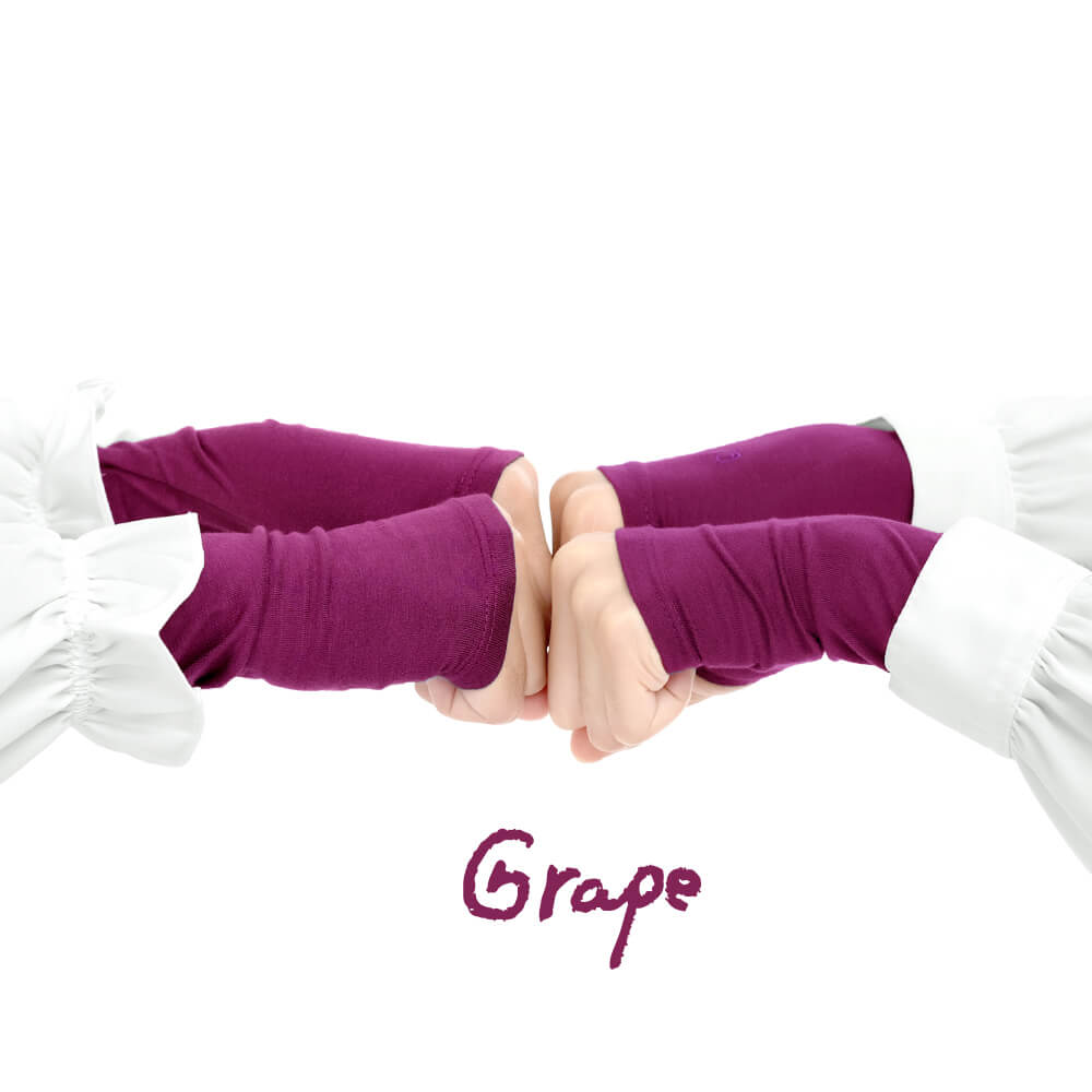 Jilbab Afra Handsock JAFR - Hasna Grape