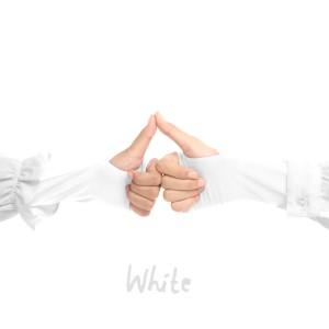 Jilbab Afra Handsock JAFR - Hasna White