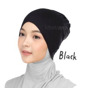 Jilbab Afra Ciput Inner JAFR - Inara Black