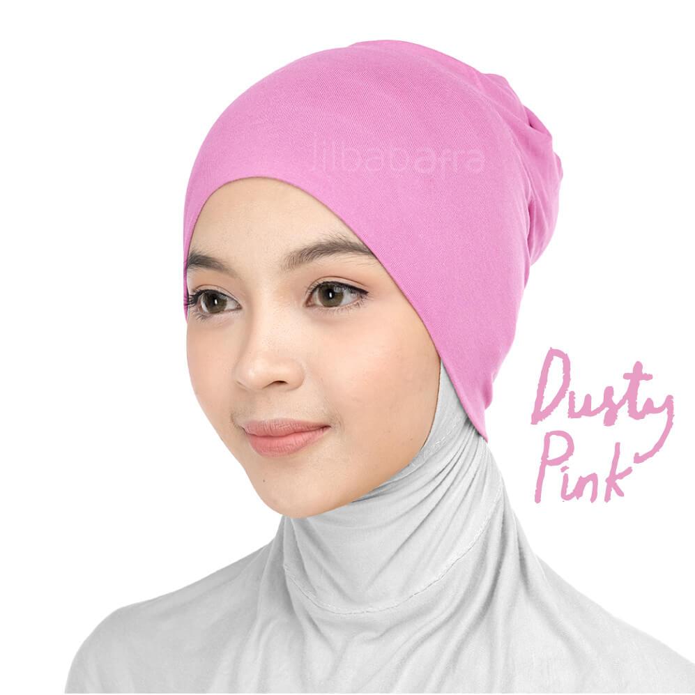 Jilbab Afra Ciput Inner JAFR - Inara Dusty Pink
