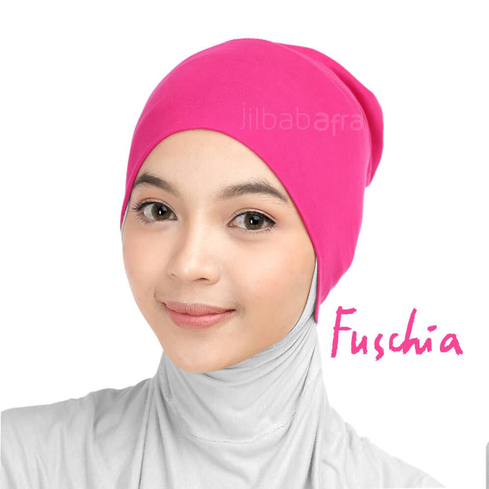 Jilbab Afra Ciput Inner JAFR - Inara Fuschia