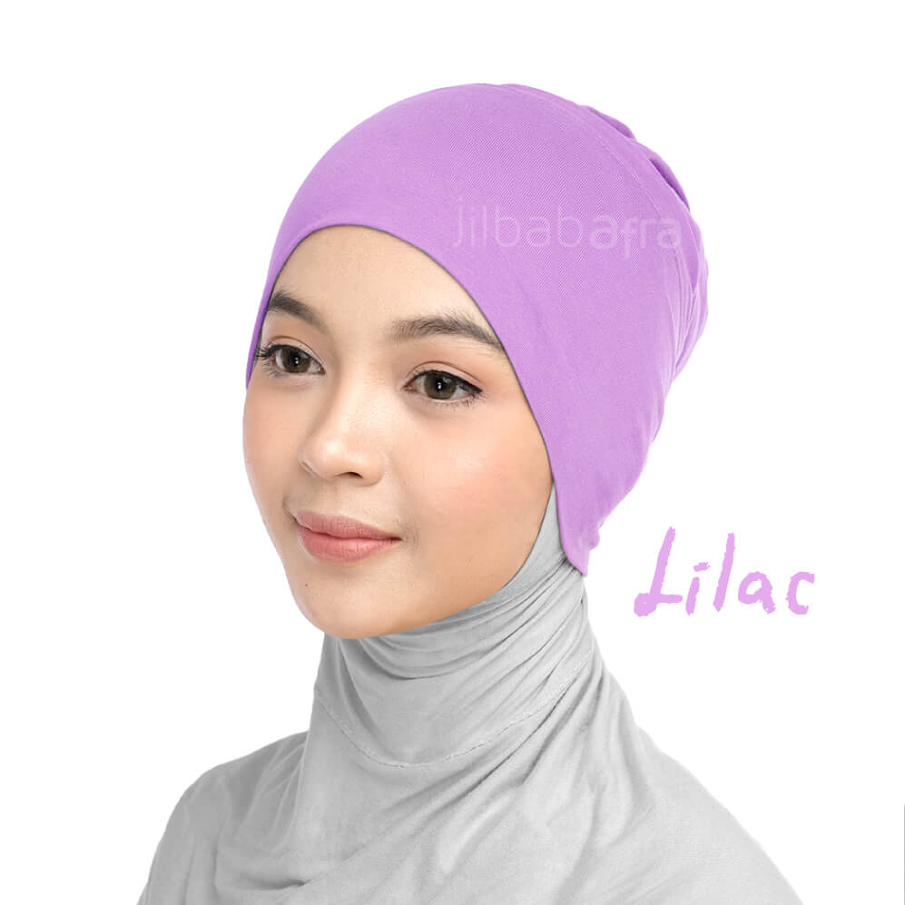 Jilbab Afra Ciput Inner JAFR - Inara Lilac