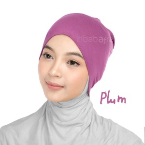 Jilbab Afra Ciput Inner JAFR - Inara Plum