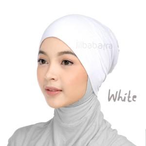 Jilbab Afra Ciput Inner JAFR - Inara White