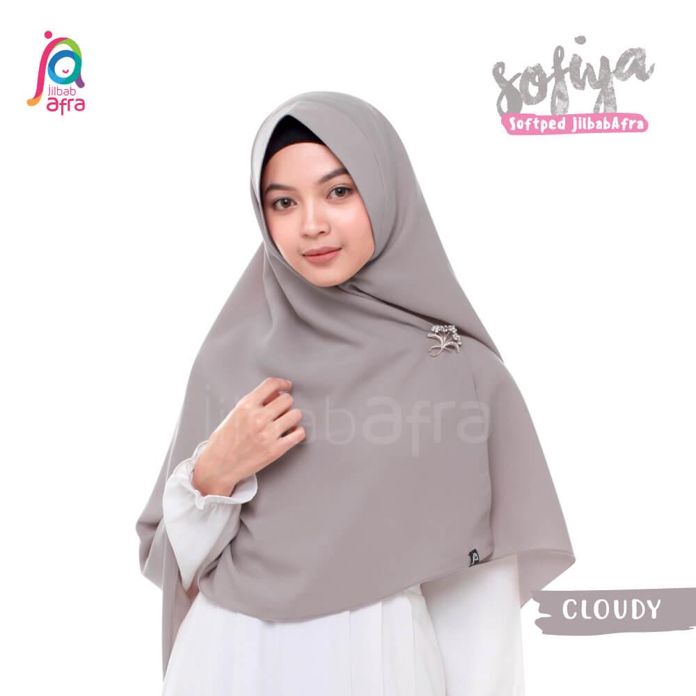 Jilbab Afra Khimar JAFR - Sofiya 02 Cloudy