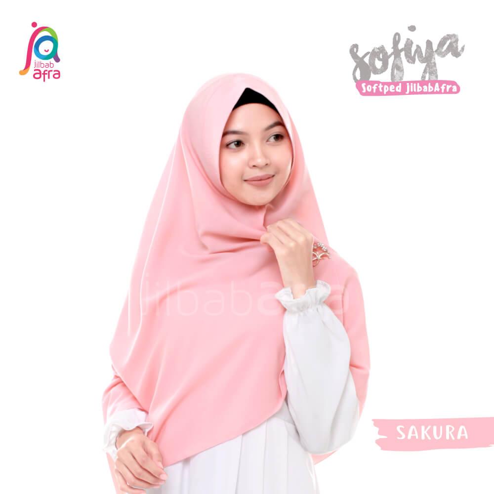 Jilbab Afra Khimar JAFR - Sofiya 07 Sakura