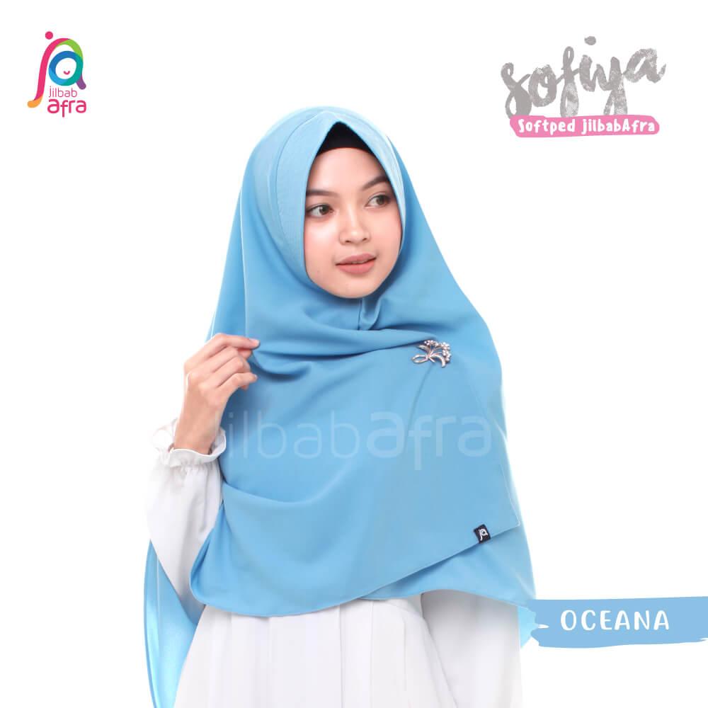 Jilbab Afra Khimar JAFR - Sofiya 14 Oceana