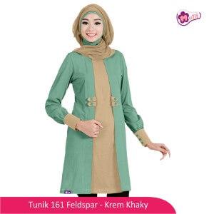 Tunik Dewasa Mutif MTIF - 161C Fedspar - Krem Khaky
