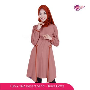 Tunik Dewasa Mutif MTIF - 162B Desert Sand - Terakota
