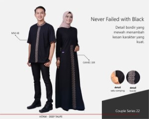 Baju Muslim Mutif Couple Series 22