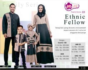 Baju Muslim Mutif Family Series 10