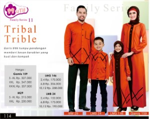 Baju Muslim Mutif Family Series 11