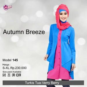 Tunik Mutif MTIF - 145C Turkis Tua - Very Berry