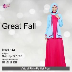 Gamis Mutif MTIF - 152C Virtual Pink - Pettiet Four