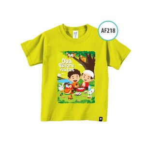 Kaos Anak Muslim Afrakids AFRA - AF218 Do'a Before You Eat