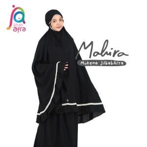 Jilbab Afra Mukena JAFR - Mahira 03 Charcoal