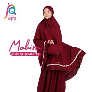 Jilbab Afra Mukena JAFR - Mahira 08 Maroon