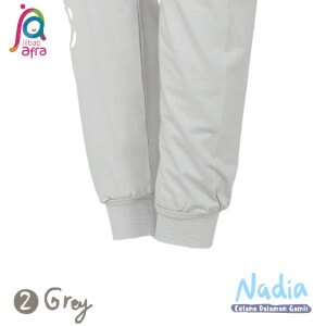 Jilbab Afra Celana Dalaman Gamis JAFR - Nadia 02 Grey