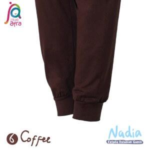 Jilbab Afra Celana Dalaman Gamis JAFR - Nadia 06 Coffee