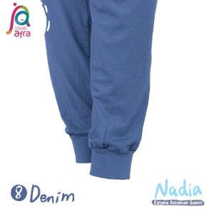 Jilbab Afra Celana Dalaman Gamis JAFR - Nadia 08 Denim